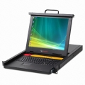 "Avocent 17"" LCD 16 port Console Drawer USB/PS2/VGA - AP17KMM16"
