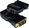 DVI Extender via Fiber Optic Cable up to 1,500 Meters