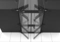 AisleLok Modular Containment Bi-Directional Doors 10163