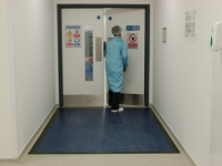 Dycem clean room mats at Filton Blood Centre