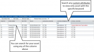 Column Header Search Any Fields